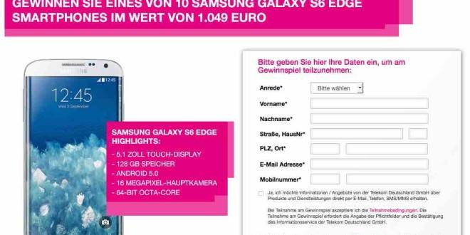 S6 Edge Gewinnen