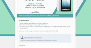 Engelhorn iPad Gewinnspiel