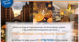Heikotel Gewinnspiel - Städtereise nach Hamburg
