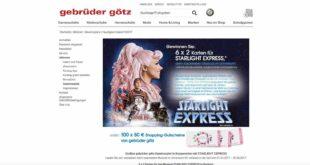 tickets für starlight express gewinnen