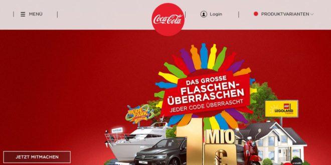 Coke De Gewinnspiel