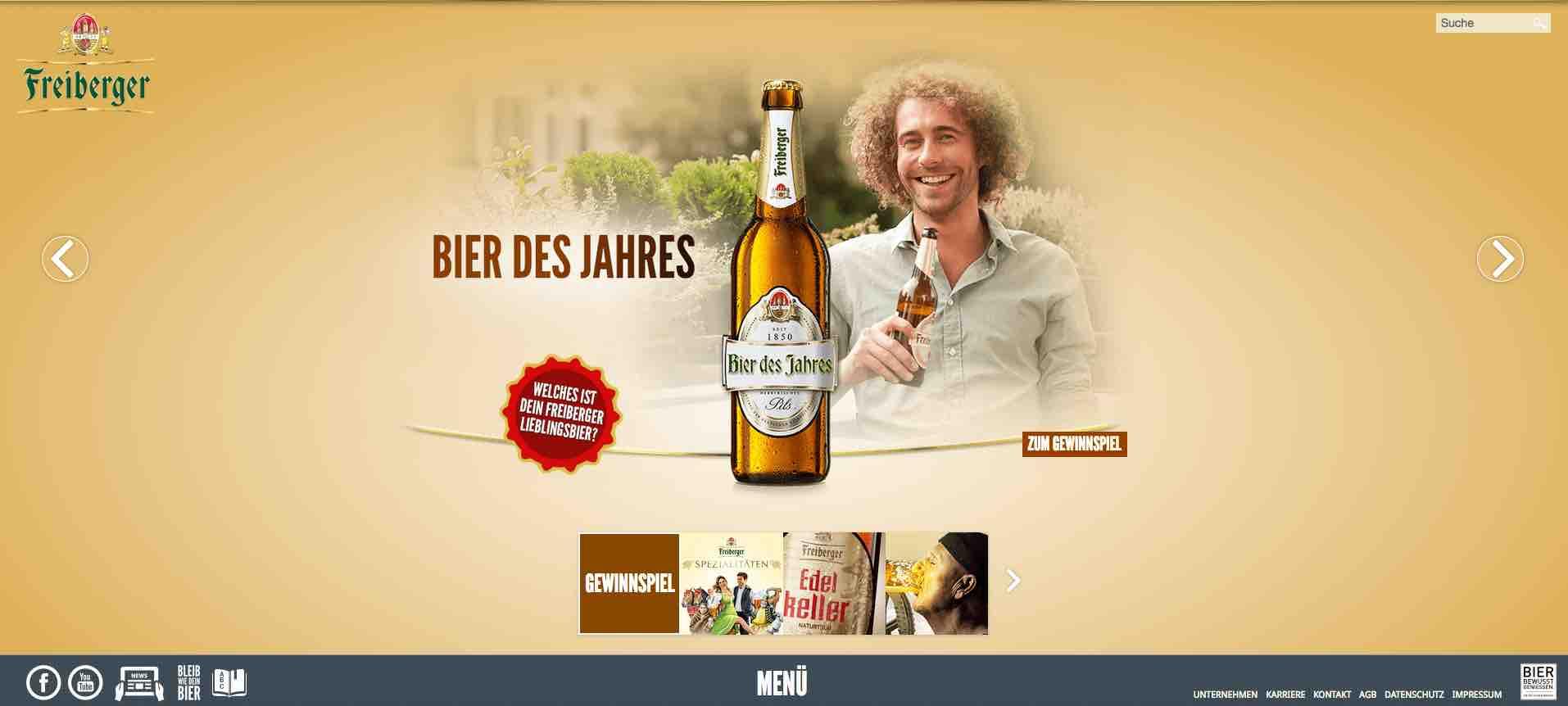 Freiberger Bier des Jahres Gewinnspiel   1 Jahr kostenlos