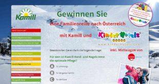 familienurlaub in österreich gewinnen