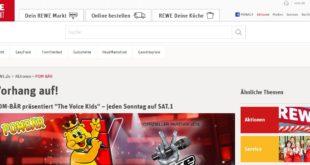 rewe pom-bär the voice kids gewinnspiel