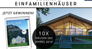 DBEFH-Gewinnspiel-Häuser des Jahres 2016