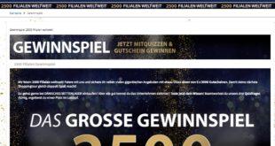 daenisches bettenlager gewinnspiel 2500 filialen