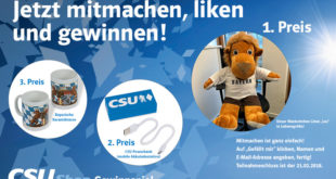 CSU-Shop Gewinnspiel Facebook