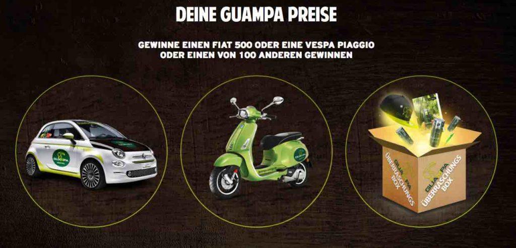Guampa-Energydrink Gewinnspiel