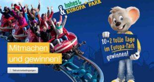 Hohes-C Gewinnspiel für Adrenalinjunkies