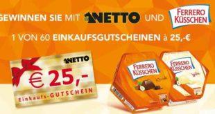 Netto- Ferrero Küsschen Weihnachtsgewinnspiel