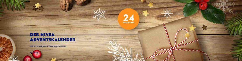 Weihnachtsadventskalender Gewinnspiel von Nivea