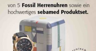 rossmann Fossil Uhr gewinnspiel