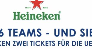Amazon Heineken Gewinnspiel