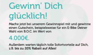 Bonprix E-Bike Gewinnspiel
