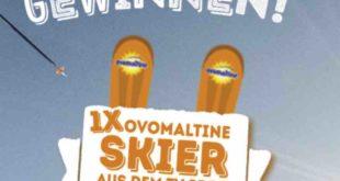Ski Gewinnspiel Ovomaltine