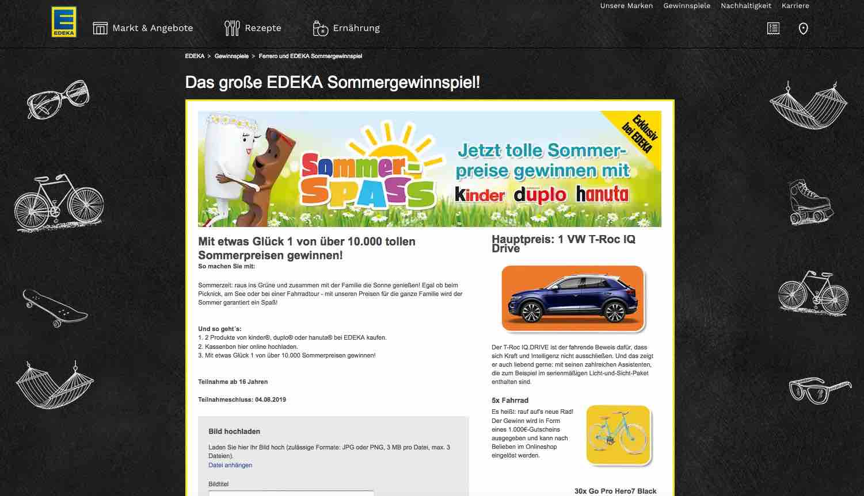 Gewinnspiele Edeka 2019