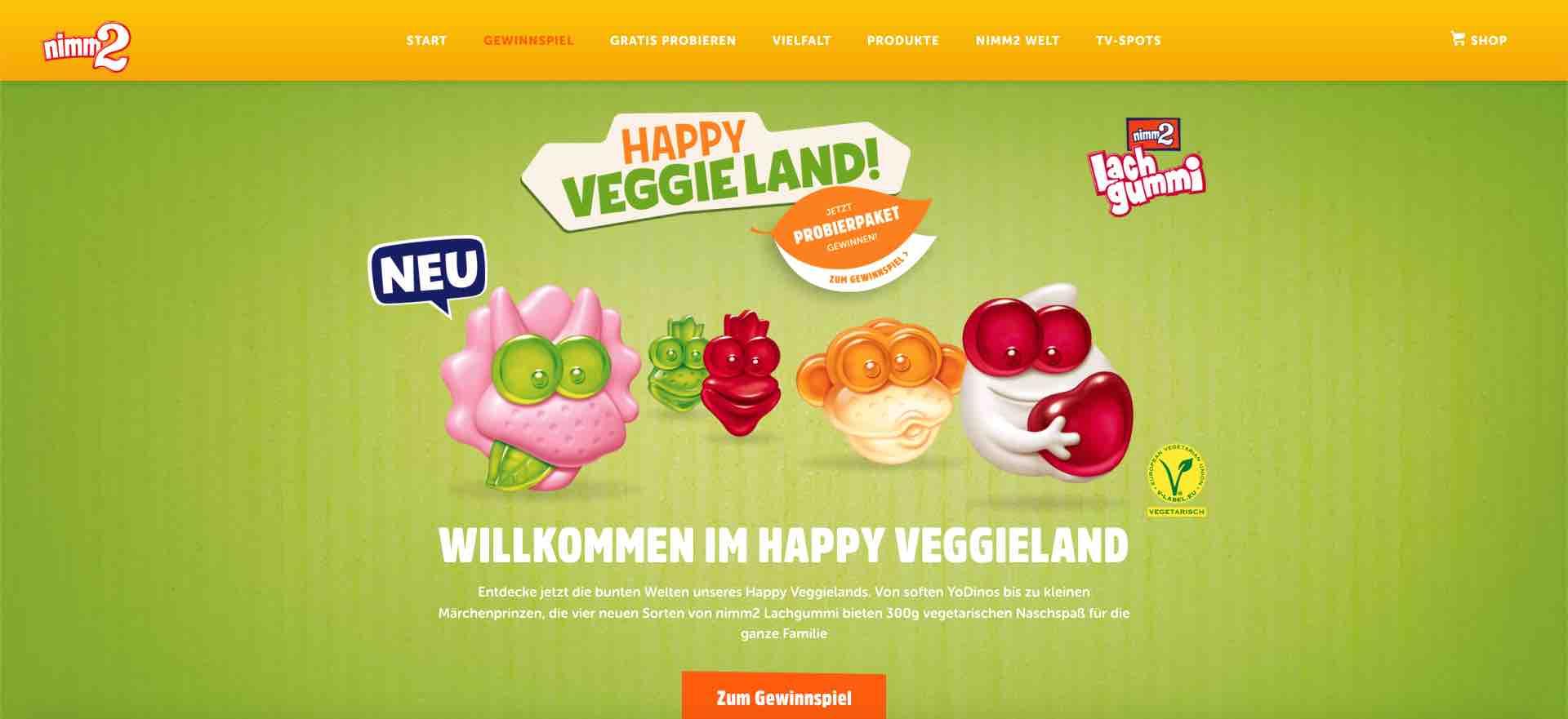 nimm2 happy veggieland gewinnspiel