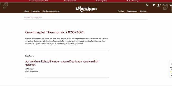 Thermomix Gewinnspiel 2021