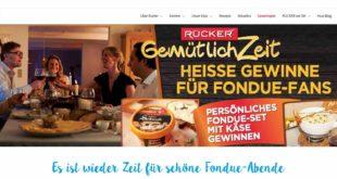 rücker fondue gewinnspiel
